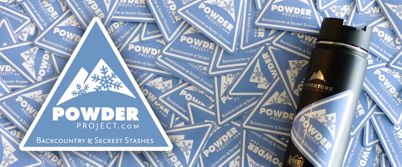 Powder Project stickers